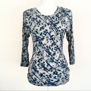 TRIBAL JEANS 3/4 sleeve Soft Jersey Long Top S